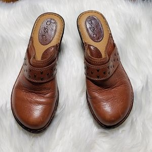 BOC Whiskey Colored Clogs 7